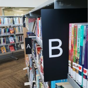 Fiction Section Divider Set (A-Z)