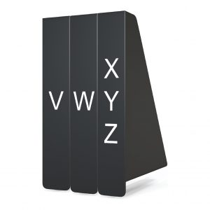Front Facing Collection Dividers - Fiction (A-Z)