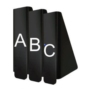 Front-Facing Collection Dividers - Fiction (A-Z)